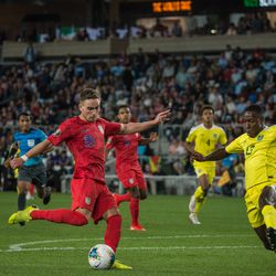 June,18, 2019 - Saint Paul, Minnesota, United States - A CONCACAF Gold Cup match between United States of America and Guyana at Allianz Field.