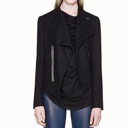 "<b>Helmut Lang</b> Sonal Wool Cropped Jacket, <a href=""http://www.helmutlang.com/sonar-wool-2-cropped-jacket/D09HW107,default,pd.html?start=2&cgid=womens-jackets-blazers"">$380</a>"