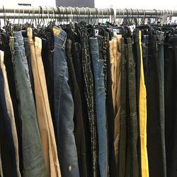 Women's pants in sizes 24 through 32