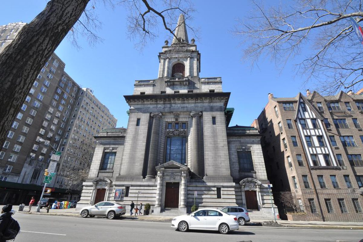 Former First Church of Christ, Scientist in New York City at 361 Central Park West