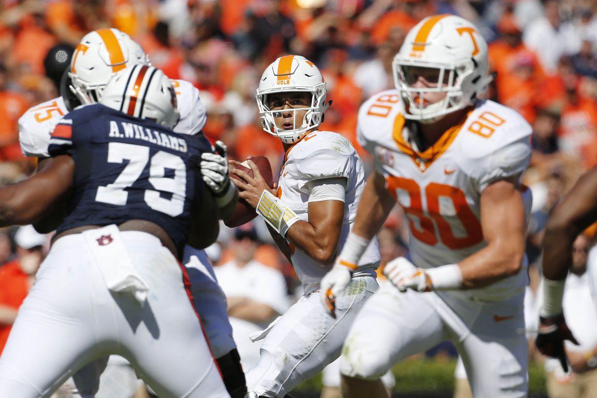 NCAA Football: Tennessee at Auburn