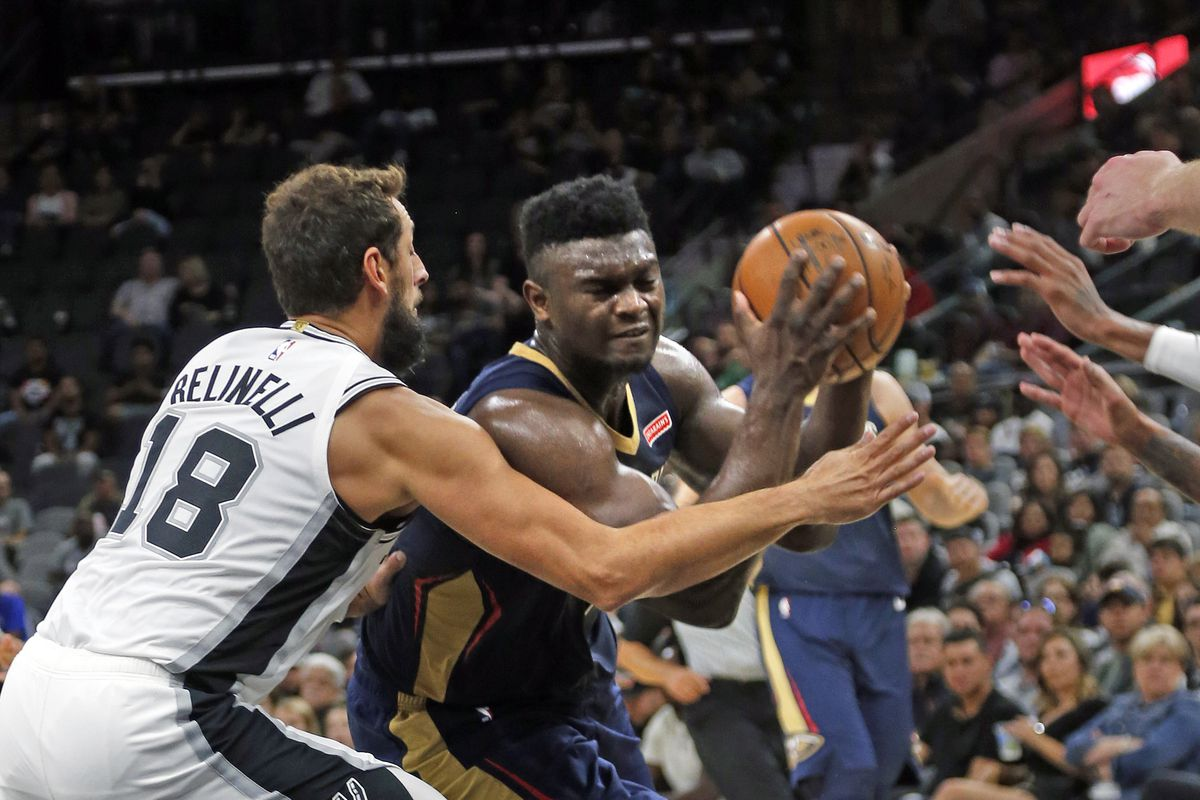Preseason musings about Zion, Giannis, and the Doncic-Porzingis pairing