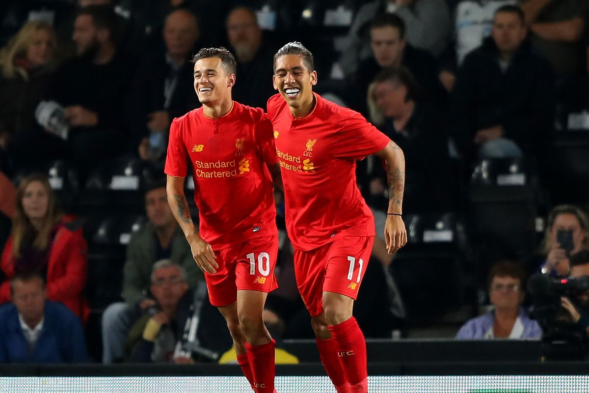 Derby County v Liverpool - EFL Cup Third Round