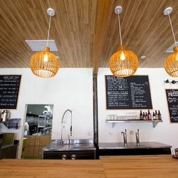 """Finally, end your retail therapy journey at <a href=""""http://la.eater.com/2014/12/29/7464389/top-new-restaurants-eater-la-los-angeles-writers-roundup"""" target=""""_blank"""">foodie-faved</a> eatery <a href=""""http://www.pineandcrane.com"""">Pine and Crane</a> (1521 Gr"""
