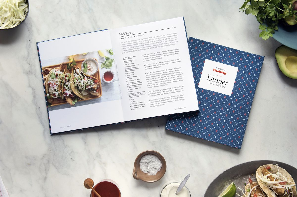 the new york times custom cookbook lets readers choose the recipes