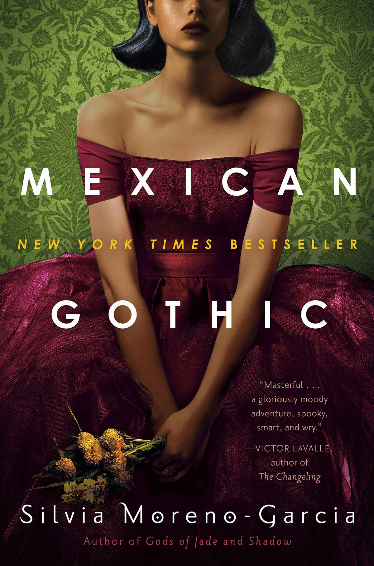 Mexican Gothic by Silvia Moreno-Garcia cover