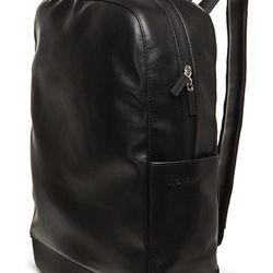 "<strong>Moleskine</strong> Large Backpack in Black, <a href=""http://shop.moleskine.com/en-us/bags-cases/bags-accessories/back-pack-black"">$149.95</a> at Moleskine Columbus Circle"