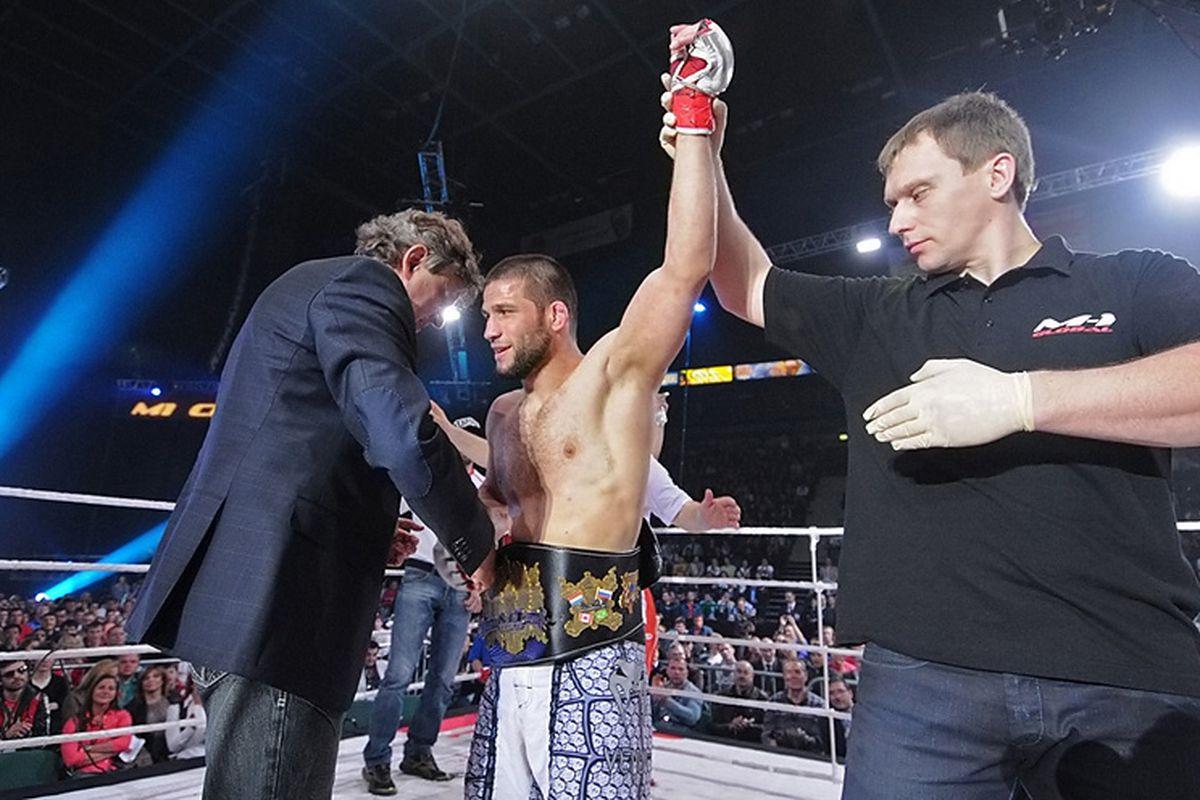 Shamil Zavurov courtesy of M-1 Global