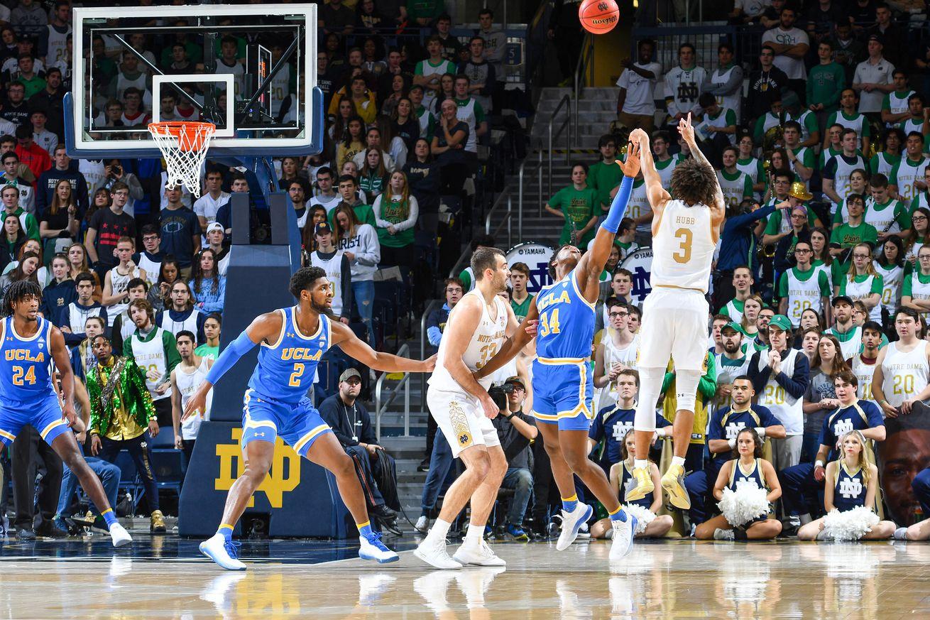 NCAA Basketball: UCLA at Notre Dame