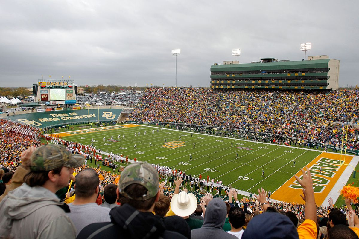 WACO, TX - DECEMBER 03:  Floyd Casey Stadium during a game between the Baylor Bears and the Texas Longhorns on December 3, 2011 in Waco, Texas.  (Photo by Sarah Glenn/Getty Images)