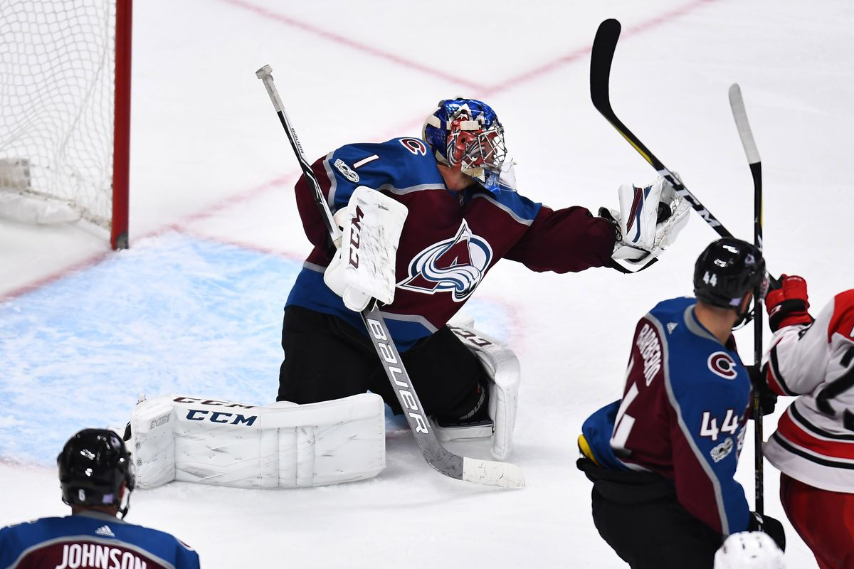 d7a94f10ad5 Semyon Varlamov puts his name in the Colorado Avalanche record books ...