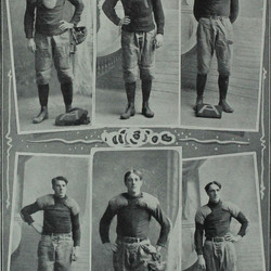 More individual shots of players on the 1903 team.