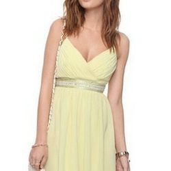 """<a href=""""http://www.forever21.com/Product/Product.aspx?BR=f21&Category=Promo_Prom&ProductID=2000042468&VariantID=024""""> Forever 21 pleated bead empire waist dress</a>, $34.80"""