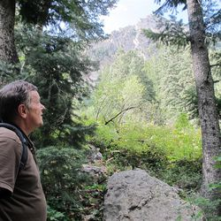 Owen Ashton says he goes through withdrawal if he does not take a regular hike into Neffs Canyon.