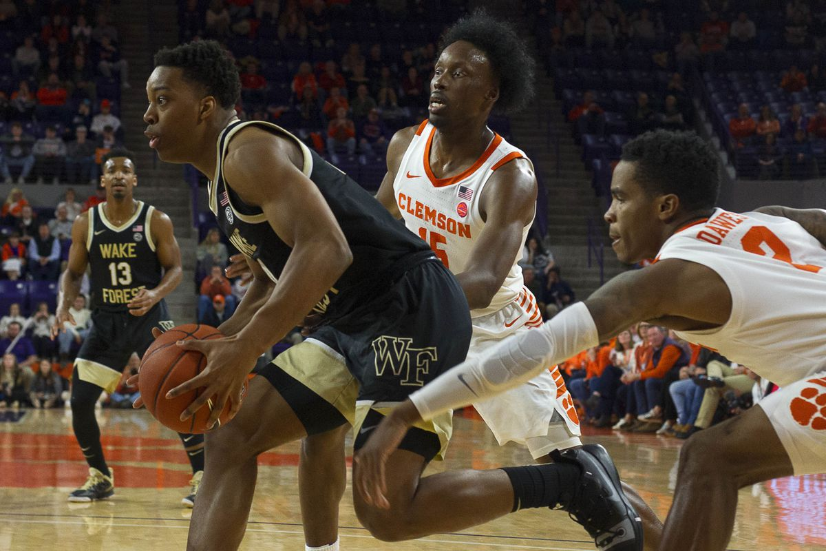 NCAA Basketball: Wake Forest at Clemson