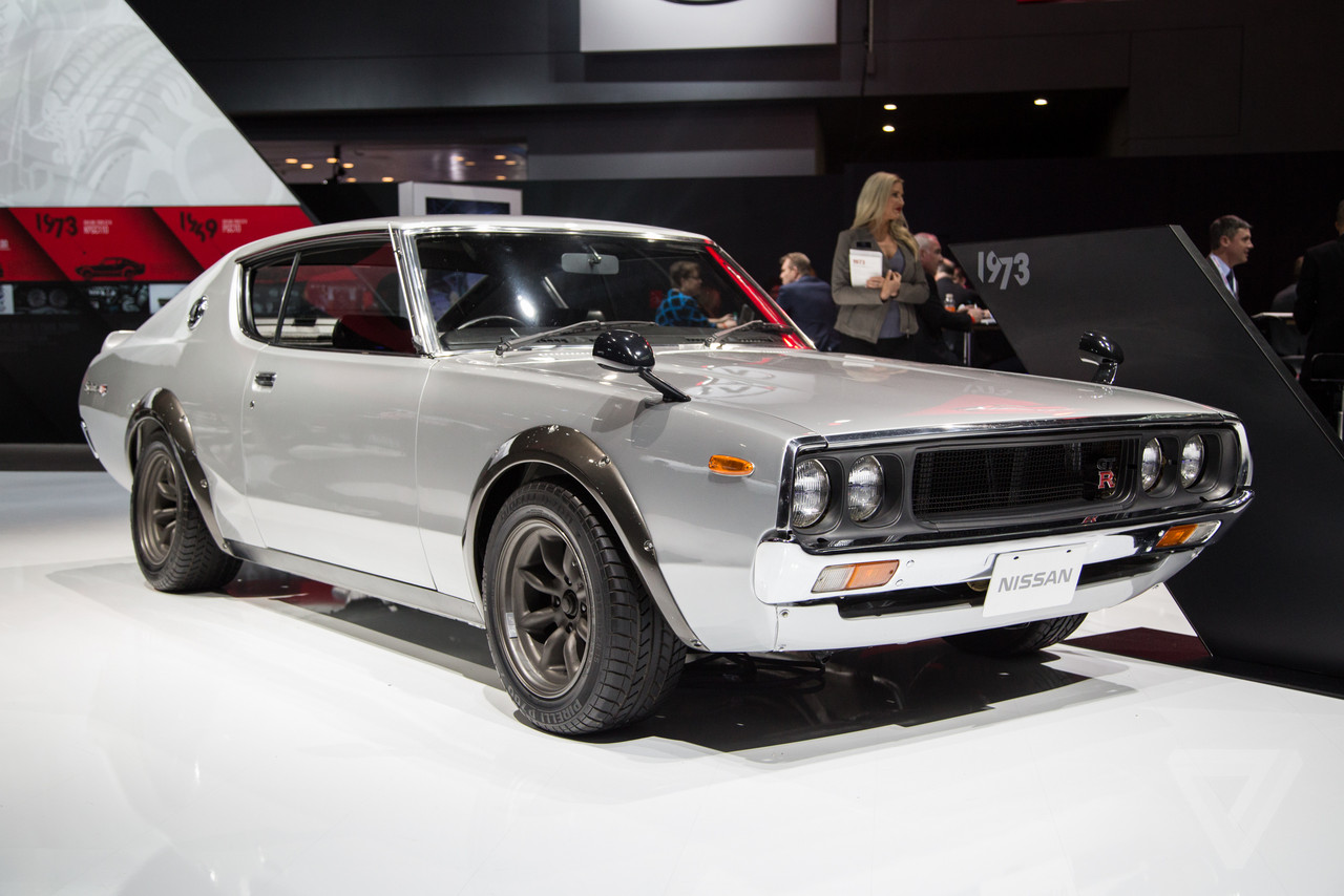 Nissan\'s vintage Skylines are the most beautiful cars at the New ...