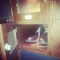 A peek at LA designer George Esquivel's spring shoe line for the Spare Room.