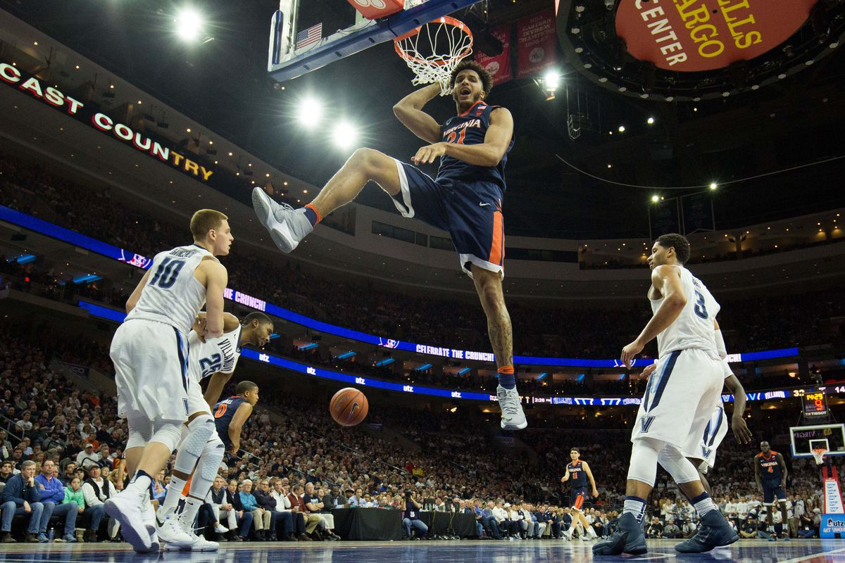 Men S Cbb Virginia And Villanova To Play At Msg Per Reports Streaking The Lawn