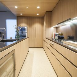 The kitchens will also be fitted with Tabac terrazzo flooring.