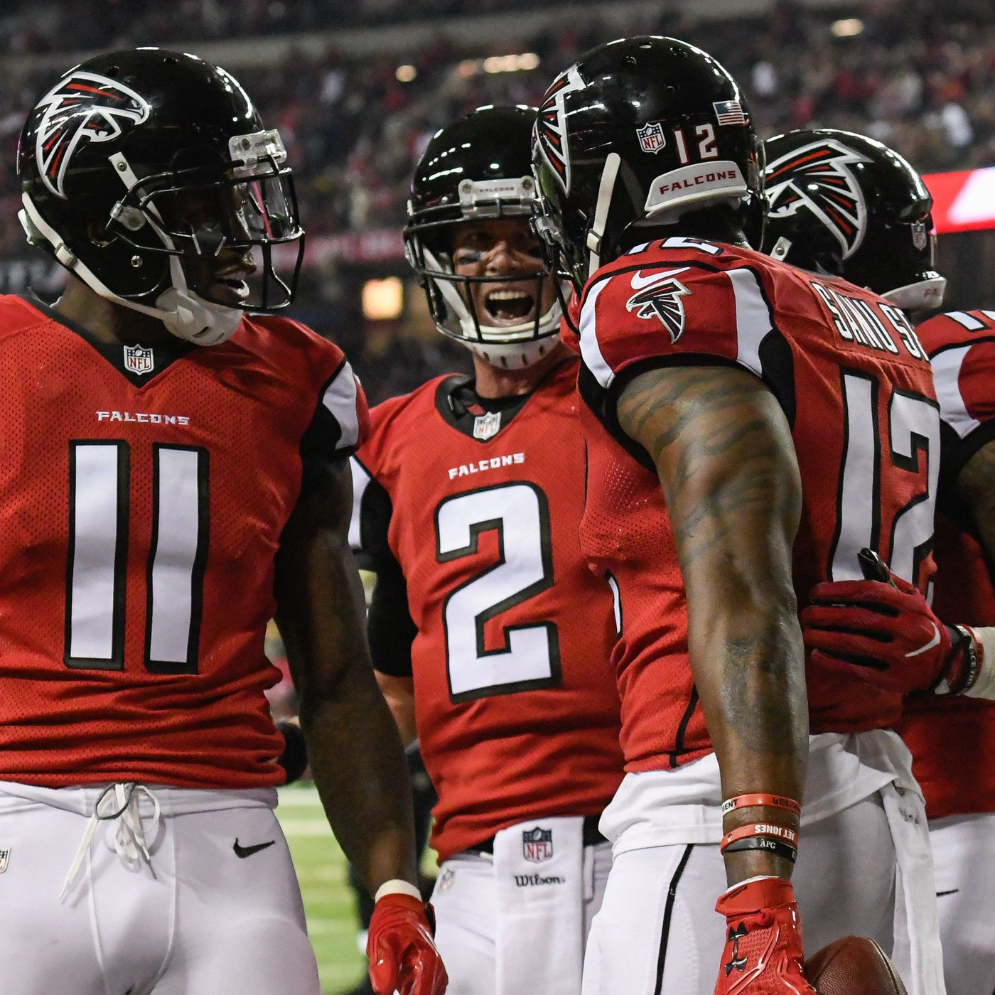 Behold the 2017 Atlanta Falcons 53 man roster in all its glory The