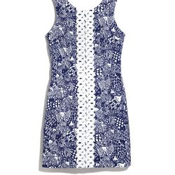 'Upstream' shift dress, $38, 2-18, 14W-26W (plus-size online only)
