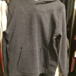 Hoodie, size L, $49 (was $195)