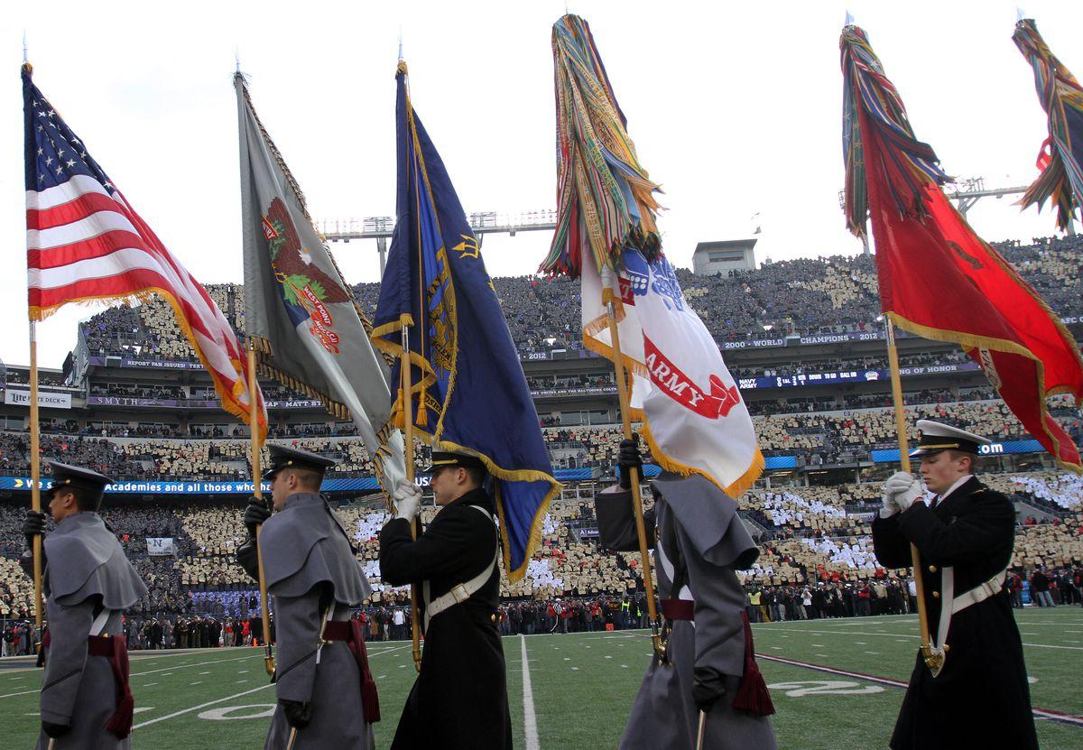 NCAA FOOTBALL: DEC 13 Navy at Army