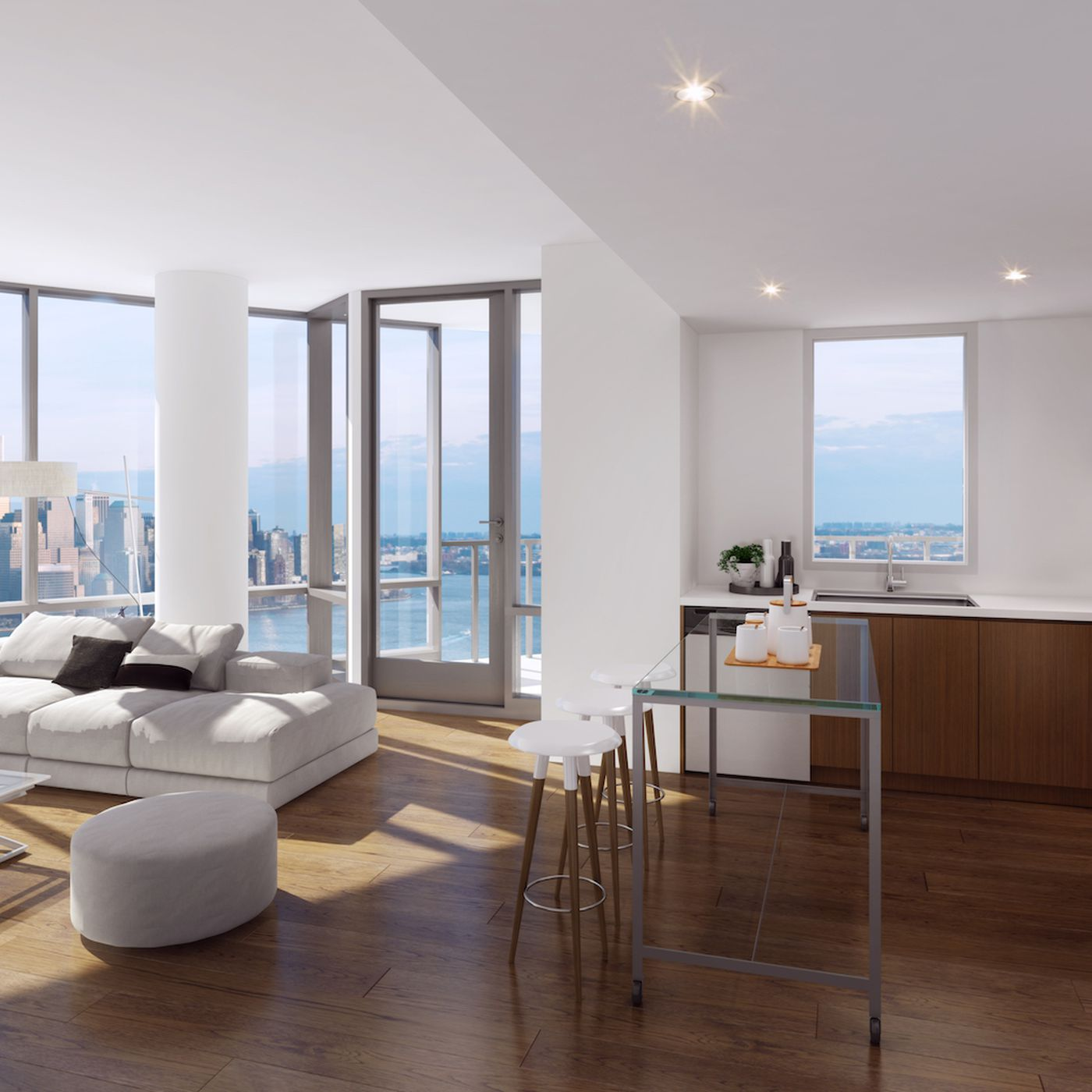 Jersey City S Newest Luxury Rental Ellipse Launches From 2 600 Month Curbed Ny