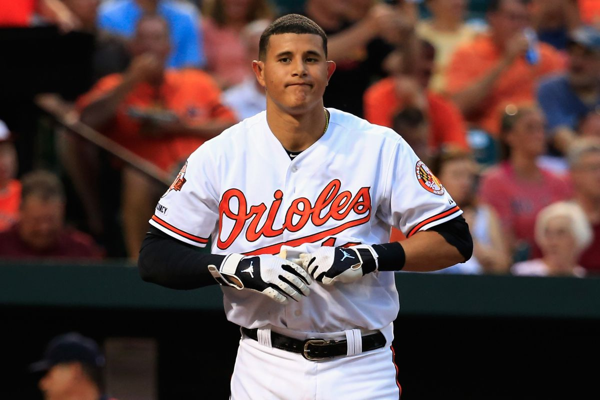 Sometime in the next couple months, Machado will have to sit out a series. The horror.
