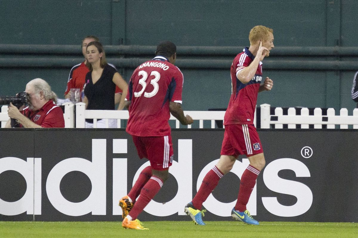 Hear that Jeff Larentowicz? The criticism could grow louder in your new role