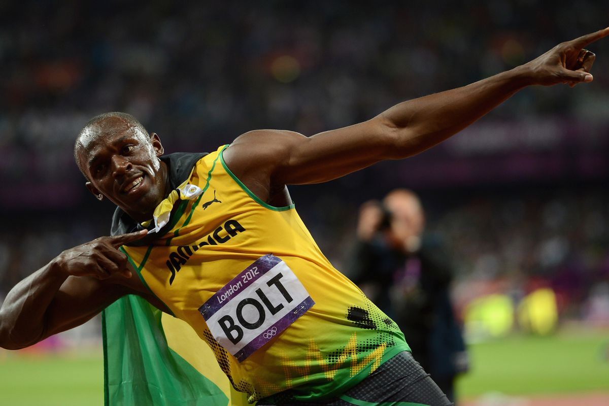 You'll get to see some Usain Bolt action tonight on NBC.