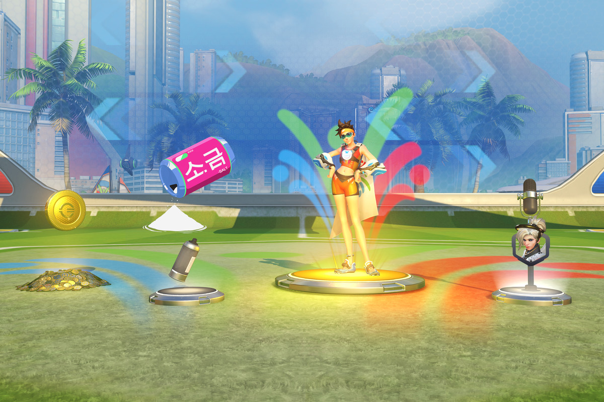 The summer games is the next upcoming event.