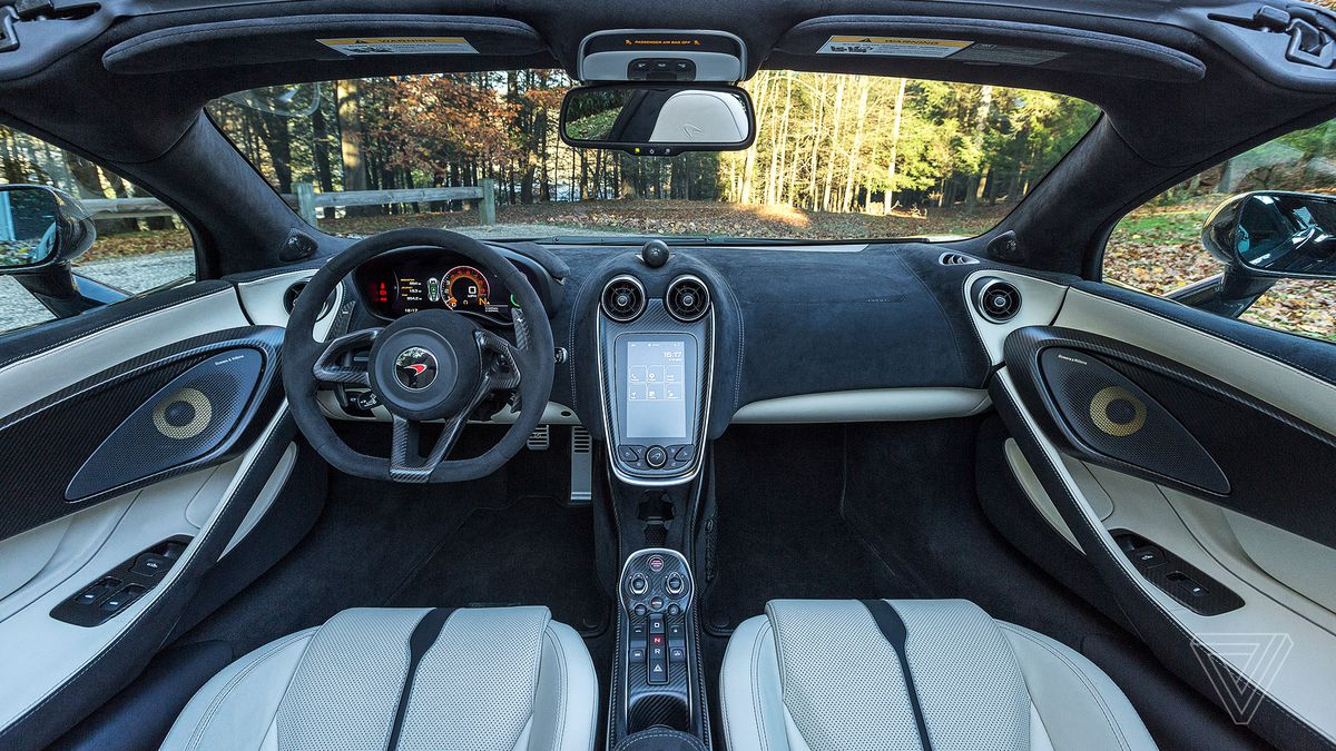 screendrive the mclaren 570s spider puts the england back in new