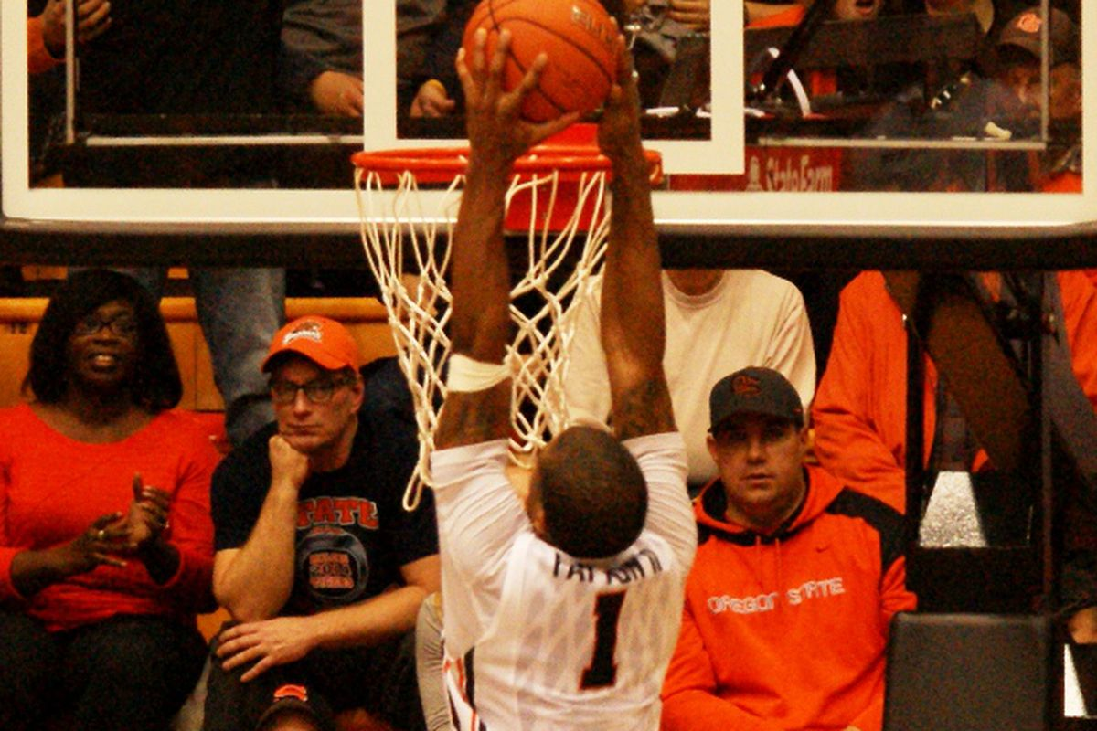 Gary Payton II throws down one of his second half dunks to open a 9 point lead with 9 minutes to go.