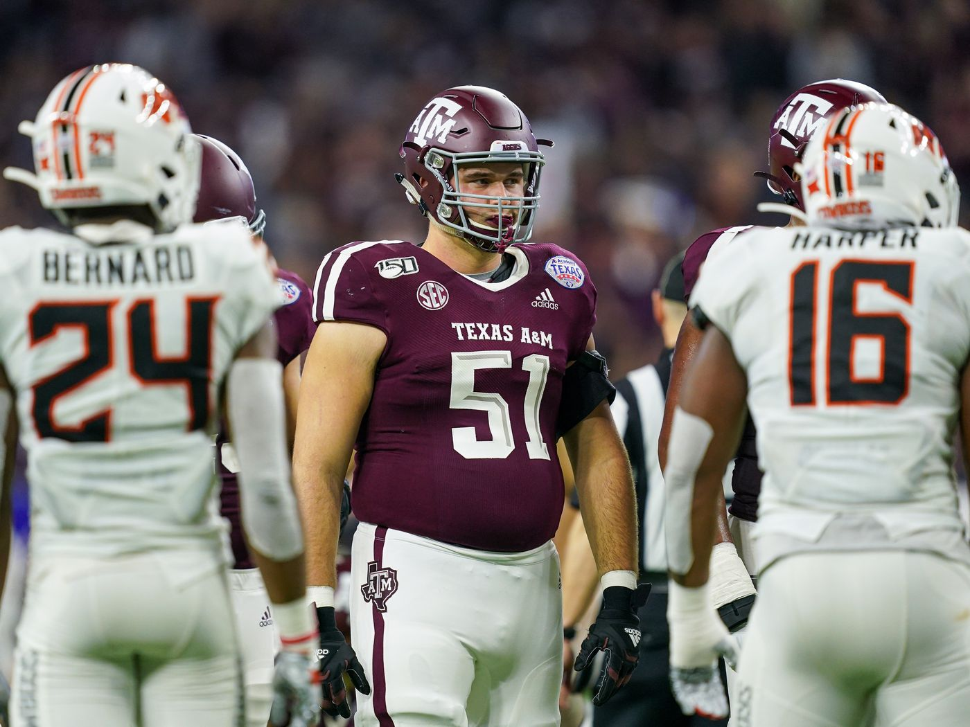 Report Three O Linemen No Longer With Texas A M As Practice Begins Good Bull Hunting