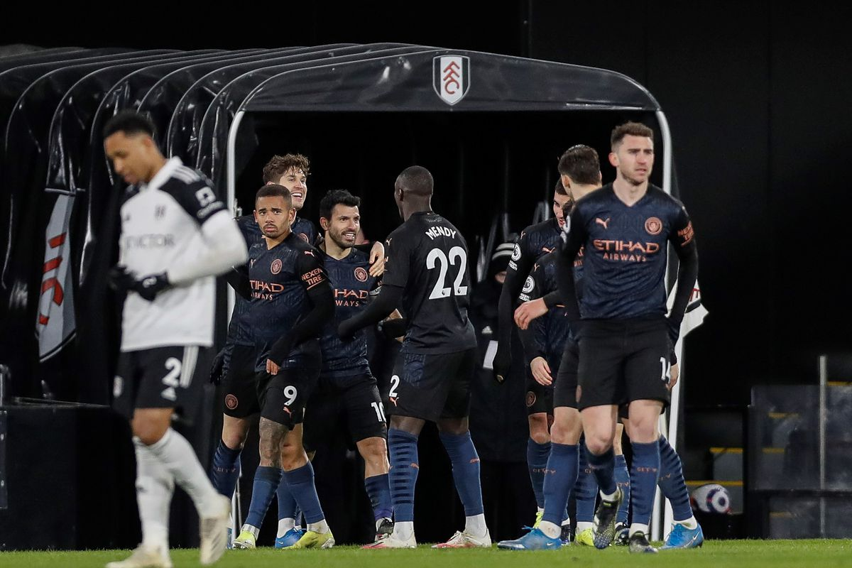 BRITAIN-LONDON-FOOTBALL-PREMIER LEAGUE-FULHAM VS MAN CITY
