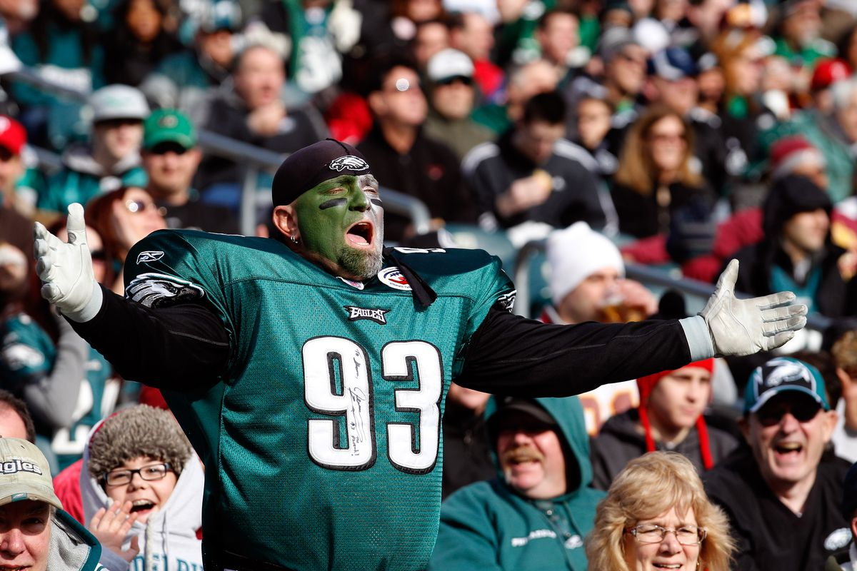 official photos 34d1b 40c26 The most embarrassing Eagles jerseys to wear - Bleeding ...