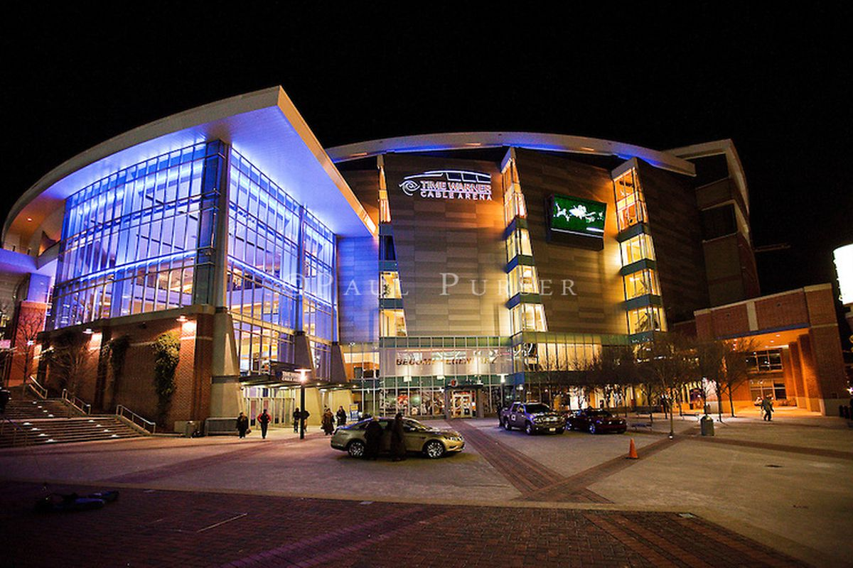 Twc No More Hornets Arena To Change Name To Spectrum