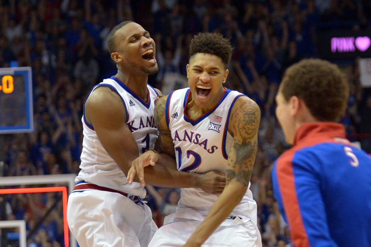 Will there be celebrating early in the first round for the Jayhawks this year?