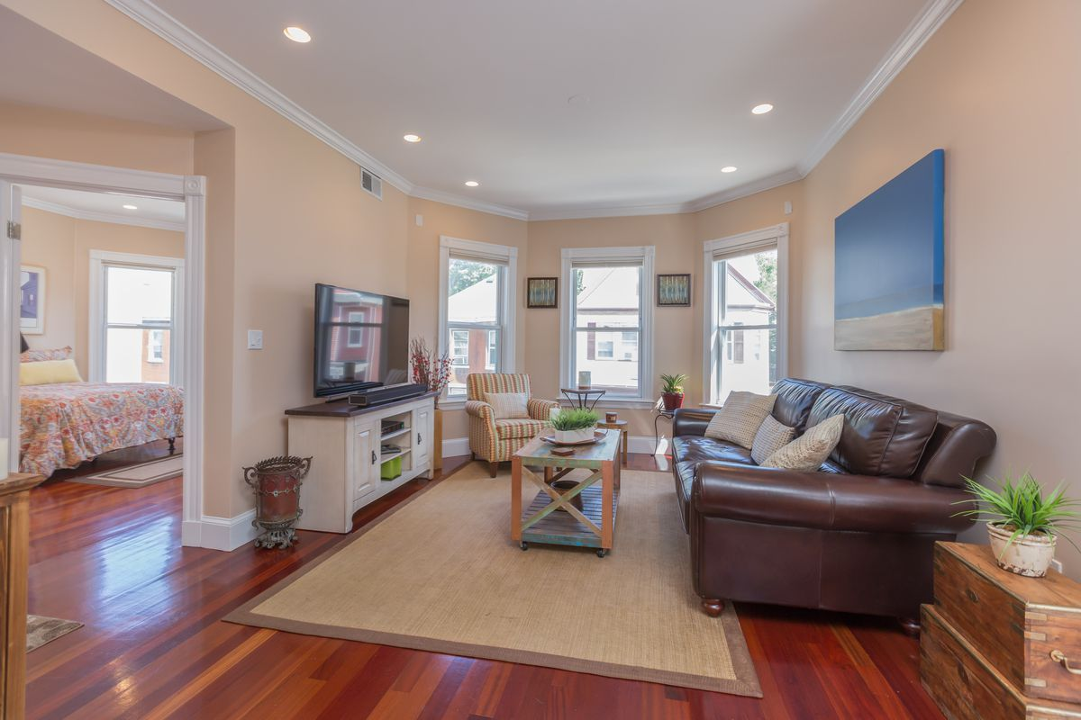 How Much A Month For A Dorchester Two Bedroom With A Deck And Basement Storage Curbed Boston
