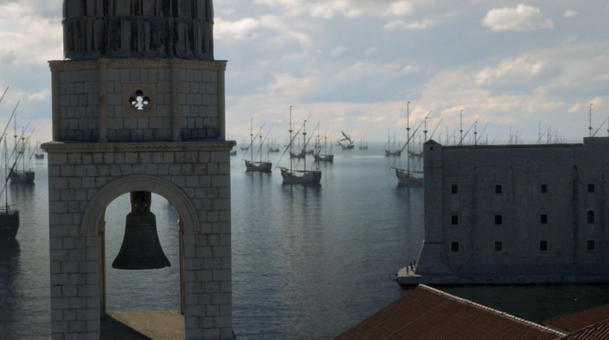 Game of Thrones S08E05 Attack on the Iron Fleet
