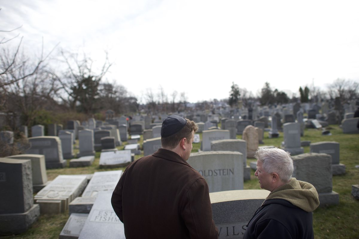 Jewish Cemetery In Philadelphia Vandalized