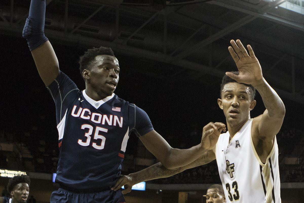Amida Brimah played in his first game since December 12 against Ohio State.