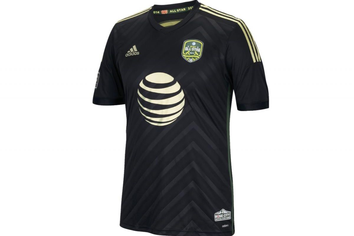 The 2014 MLS All Star jersey