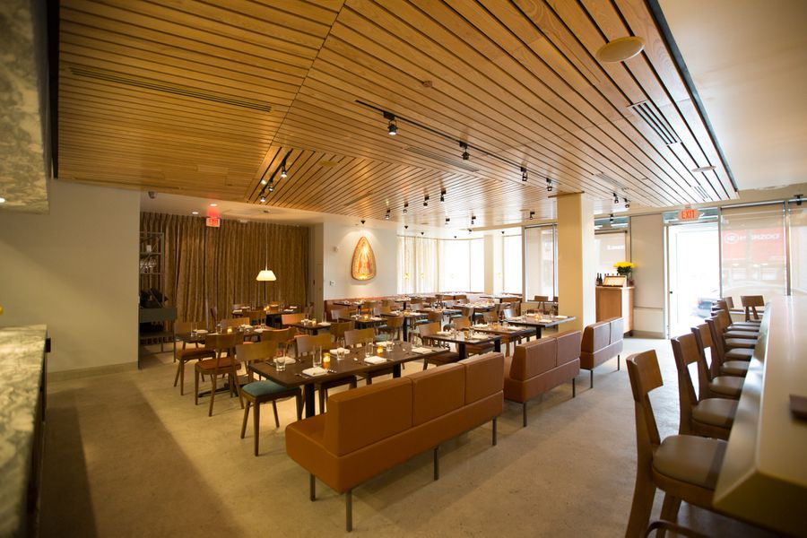 aestus a suave mid century modern dining room in the heart of santa monica