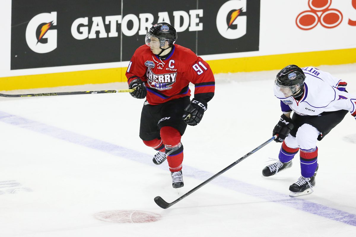 It is my hope that Anthony Beauvillier dons a much nicer looking red and black jersey on June 27th.