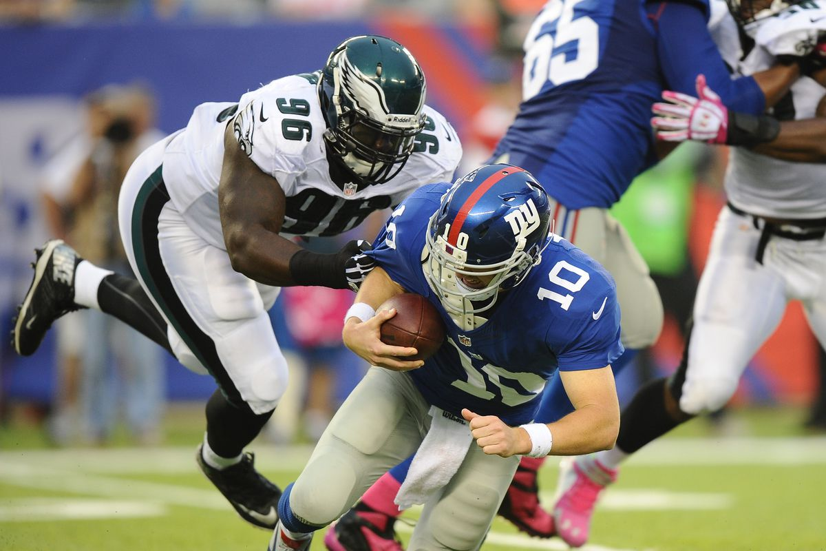 Rookie DT Bennie Logan officially listed as a starter for the
