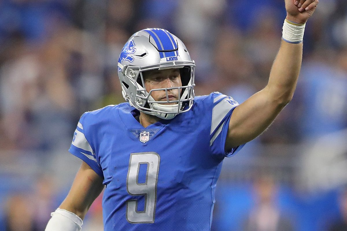 The Detroit Lions ing off a bye in the Matthew Stafford era are