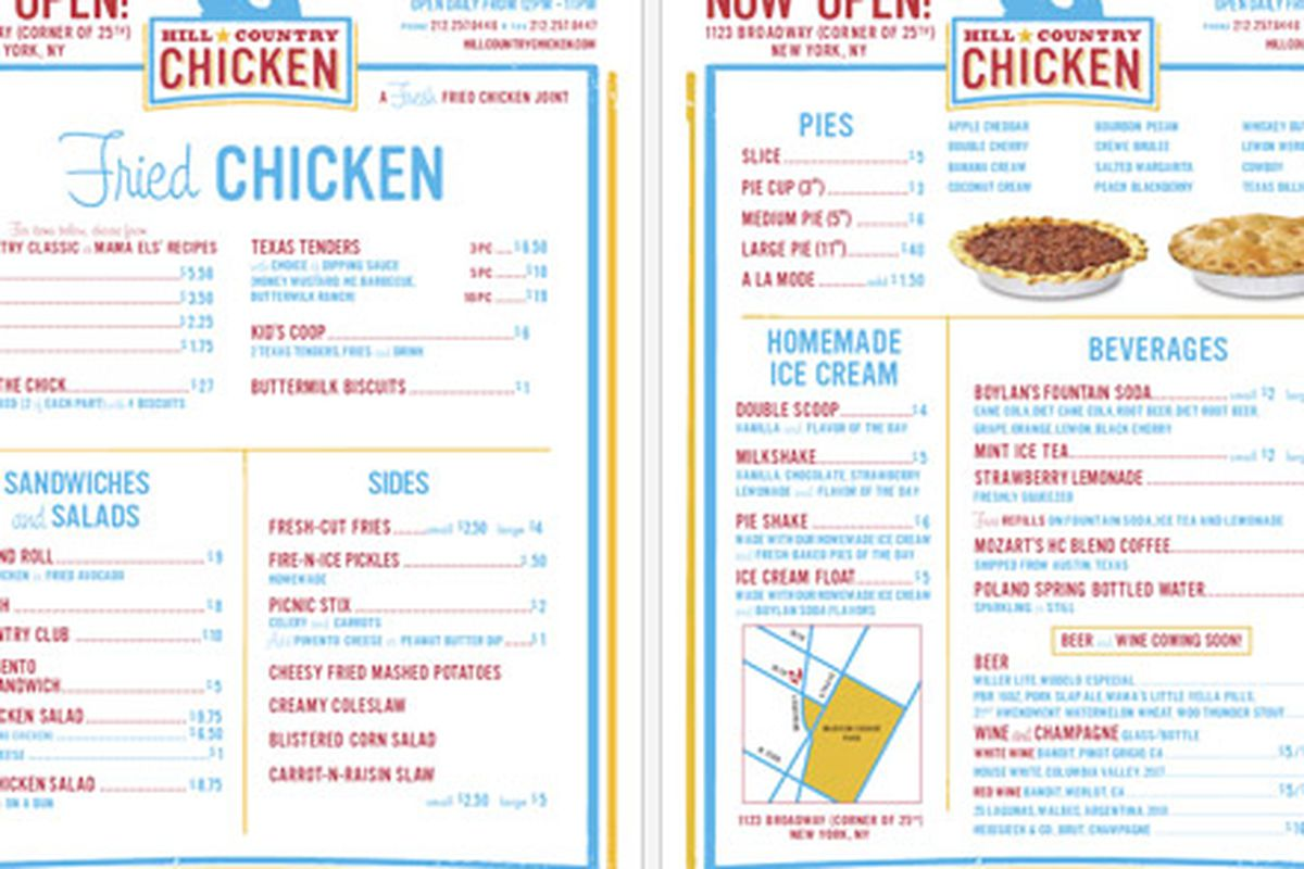 """Click <a href=""""http://ny.eater.com/uploads/2010_09_hillcountrychicken.jpg"""" width=""""1300"""" height=""""815""""></a>here to enlarge"""