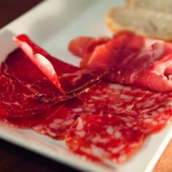"""Charcuterie at bahr/che by <a href=""""http://www.flickr.com/photos/hellokitty893112/5281732381/in/pool-eater/#/photos/hellokitty893112/5281732381/in/pool-29939462@N00/"""">thewanderingeater</a>"""